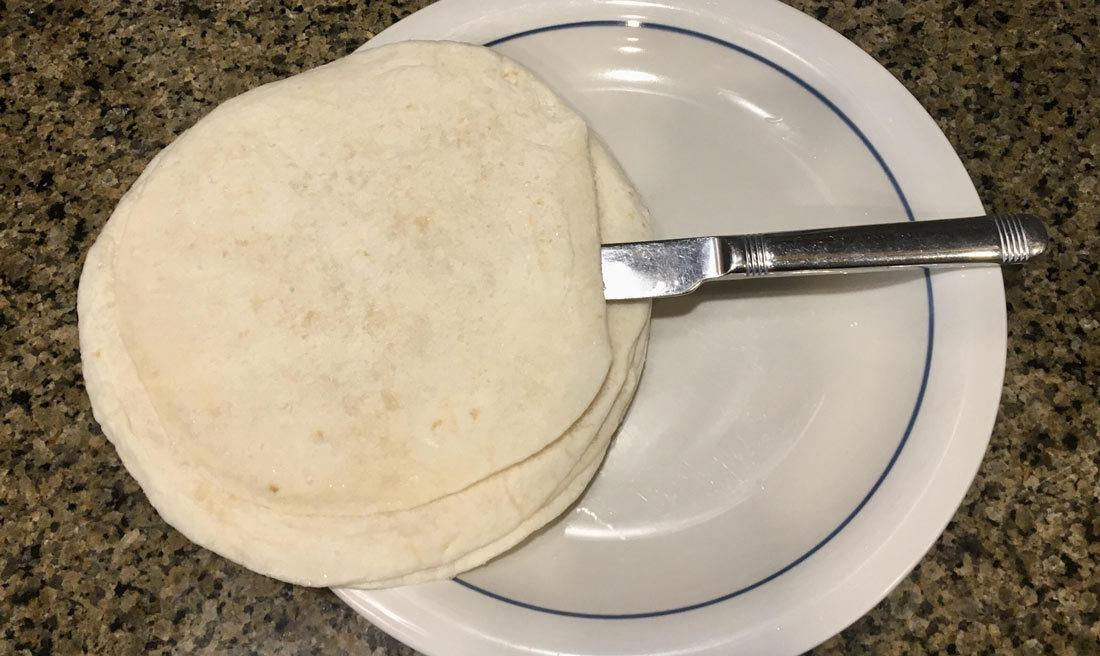 Separating Frozen Tortillas