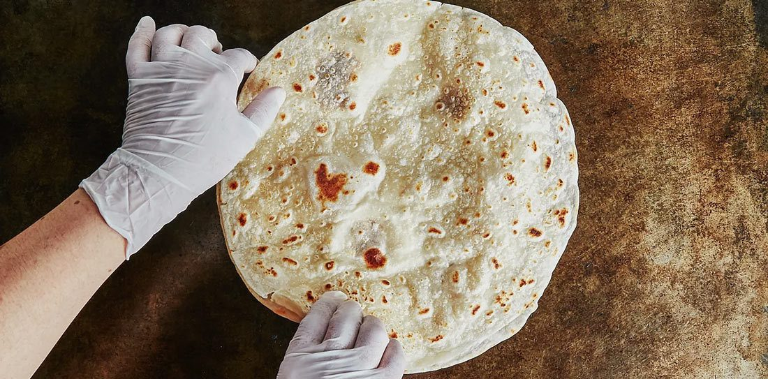 Store Tortillas by Freezing