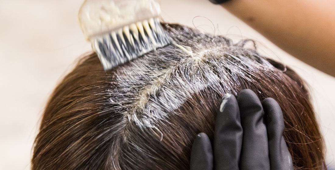 How to remove a temporary dye