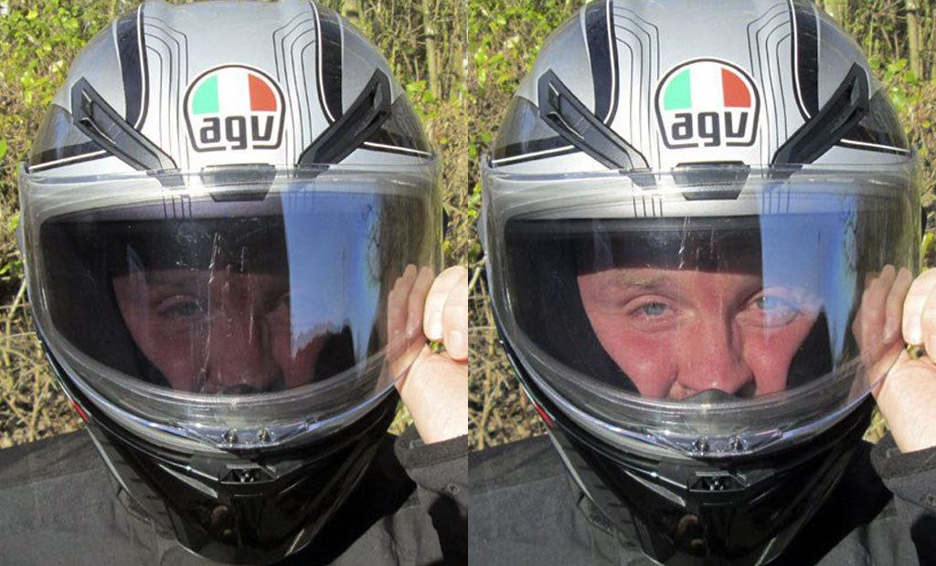 The Difference Between Light And Dark Tint Visors