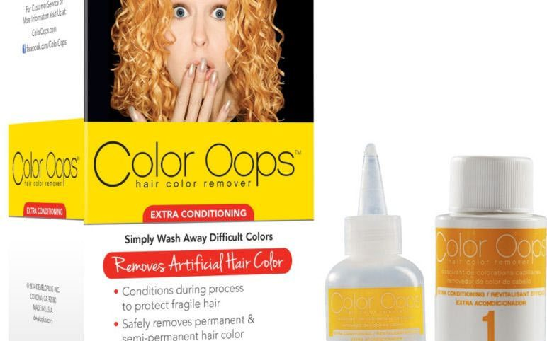 Red Hair dye removal products