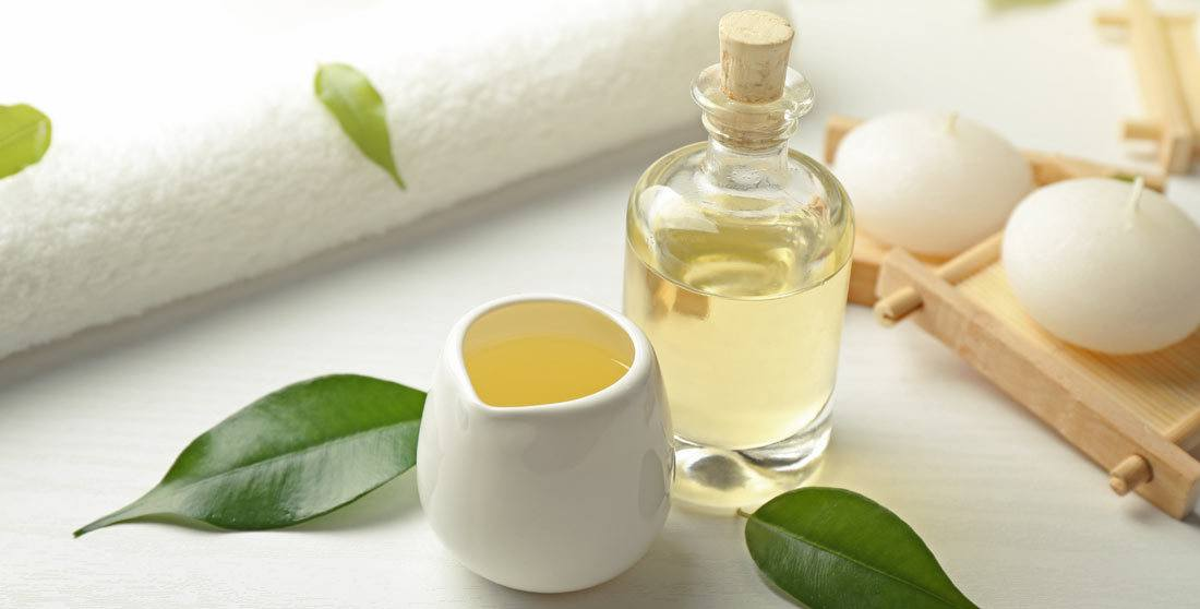 Remove the dye with tea tree oil