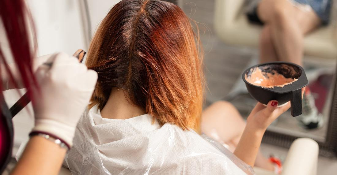 Steps to remove hair color from red hair