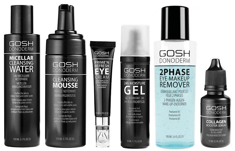 Using GOSH GRAY styler to wet hair