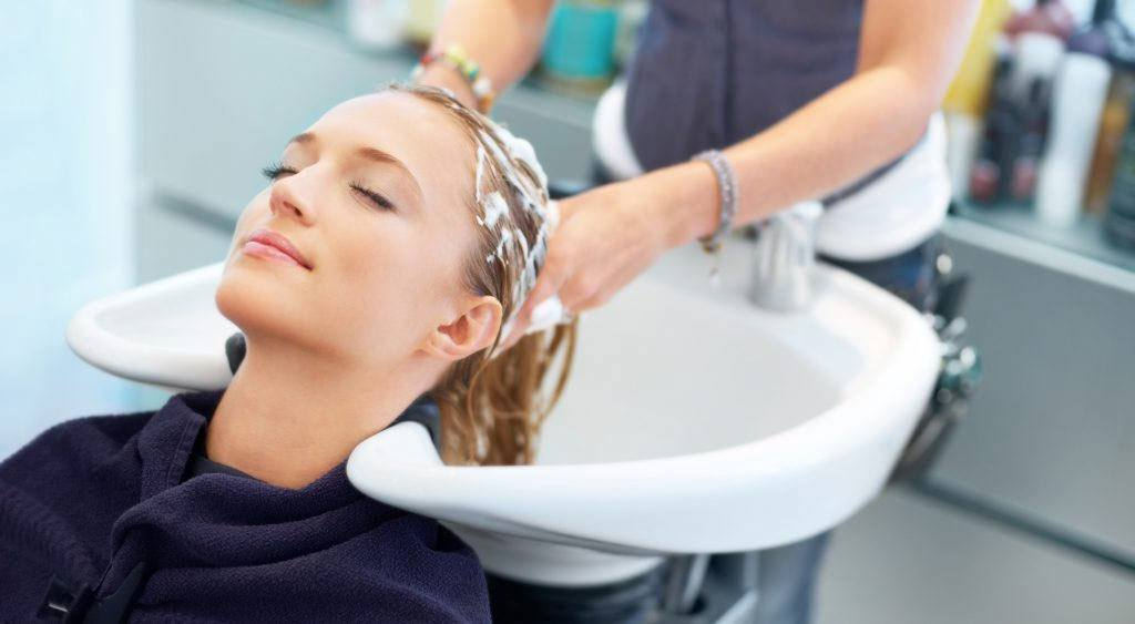 Wash hair with normal shampoo and conditioner