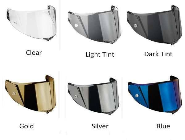 The different types of tint visors
