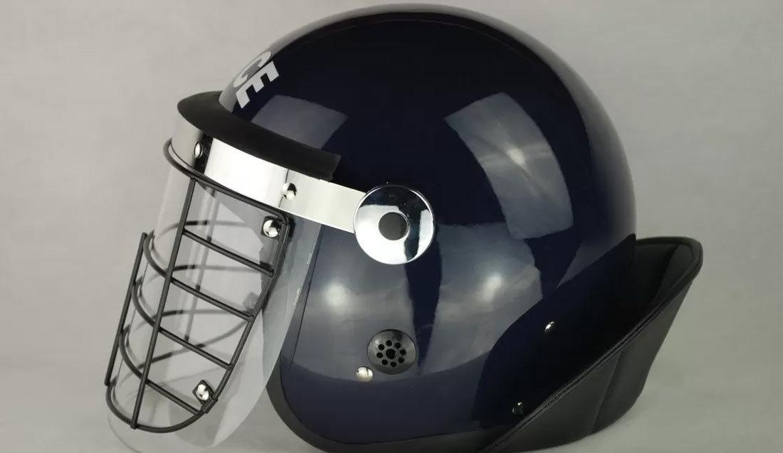 When to use a metal visor